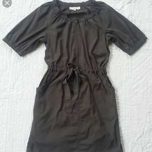 Loft Gray Utility Dress